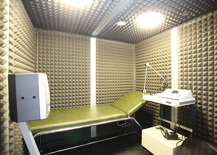 Dr Benchaou - Soundproof room